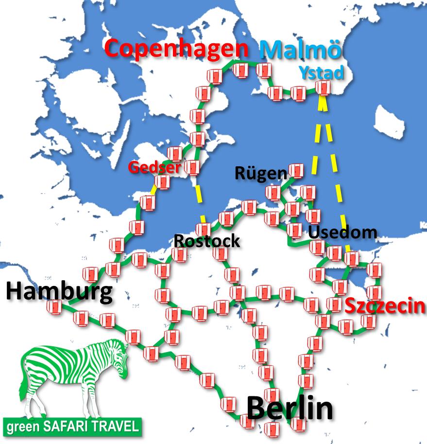 green SAFARI HOTEL Berlin-Baltic-Copenhagen
